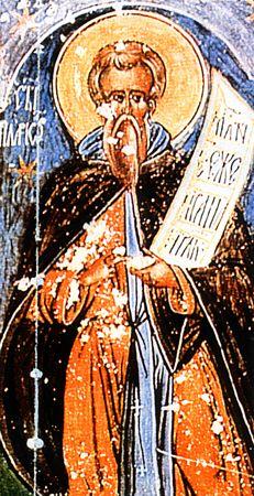 прп. Іларіона Нового, Далматського