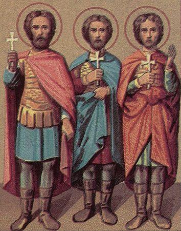 мчч. Мануїл, Савл та Ісмаїл