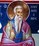 прп. Євфимій Новий, Солунський