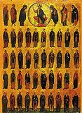 прп. отців у Синаї та Рифі